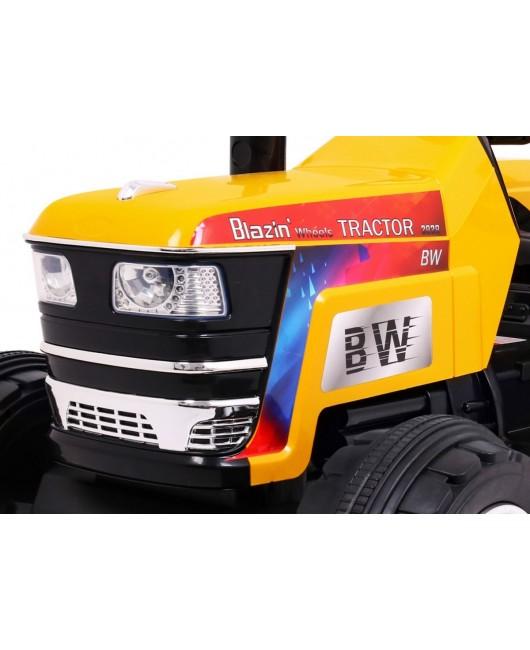 Elektrický traktor Blazin BW žltý